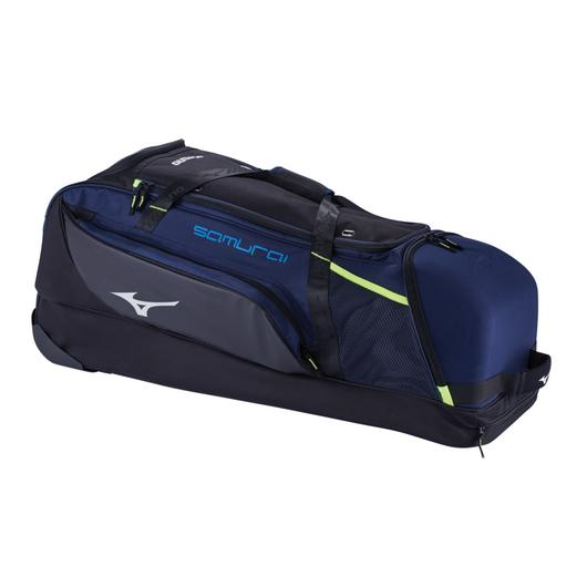 Wheeled Catchers Bag Samurai Catchers Wheel Bag Mizuno Usa