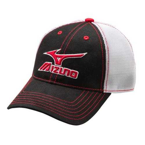 ebc77ea7453 Double tap to zoom. Mizuno Mesh Trucker Hat