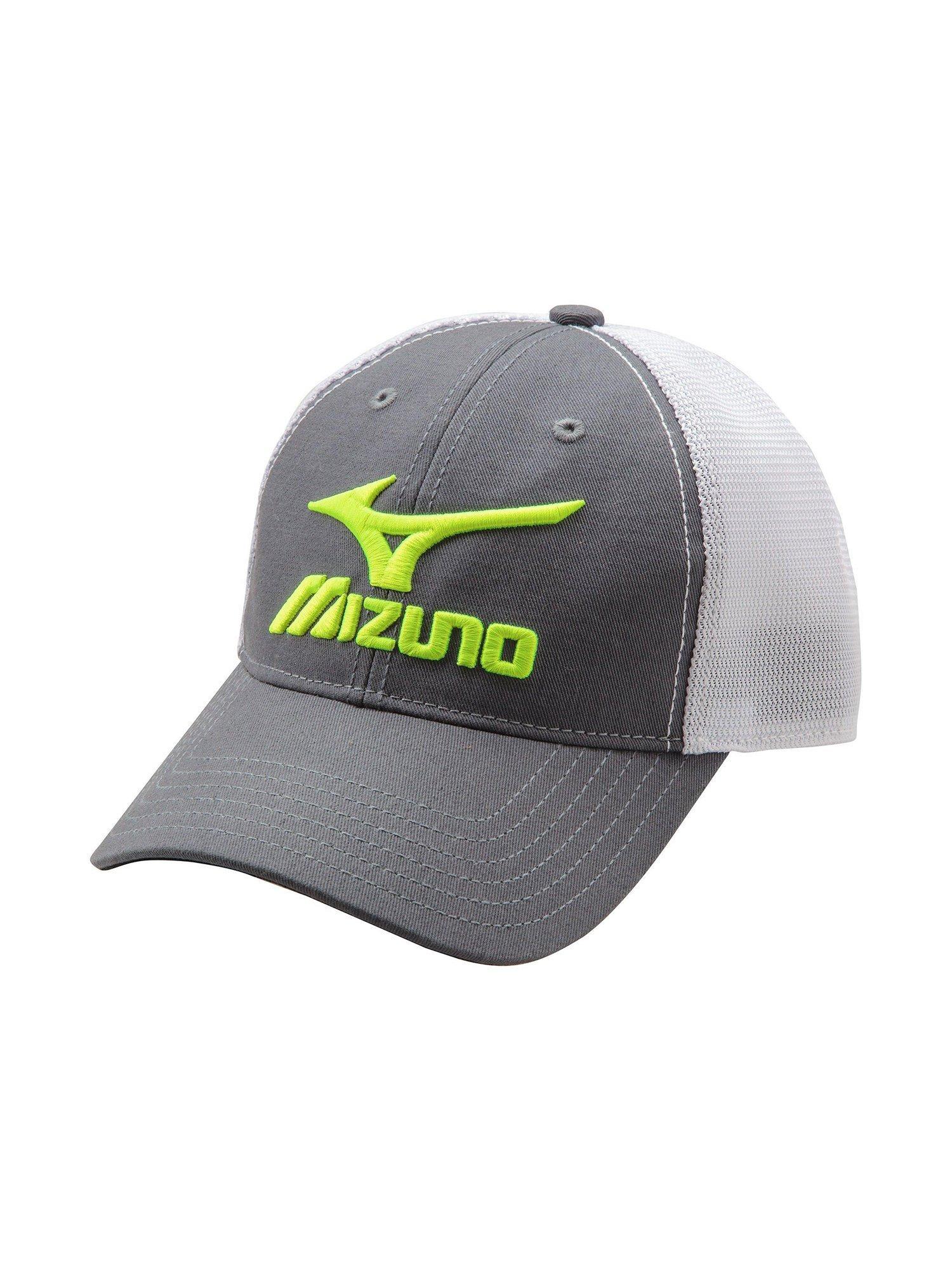 Image is loading Mizuno-Baseball-Accessories-Mizuno-Mesh-Trucker-Hat-370211 2fefa6cdfe9