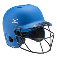 Prospect Solid Youth Batting Helmet with Fastpitch Wire Mask
