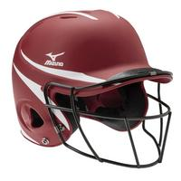 MVP Series L/XL Batting Helmet with Fastpitch Softball Mask