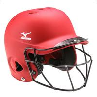 MVP Solid L/XL Batting Helmet with Fastpitch Softball Wire Mask