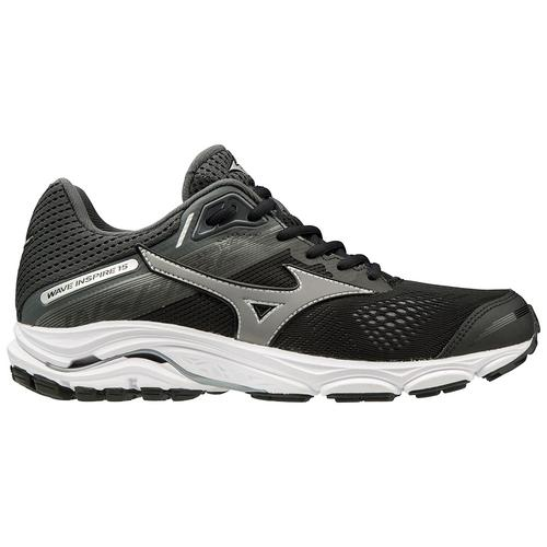 mens mizuno running shoes size 9.5 equivalent high grey ver