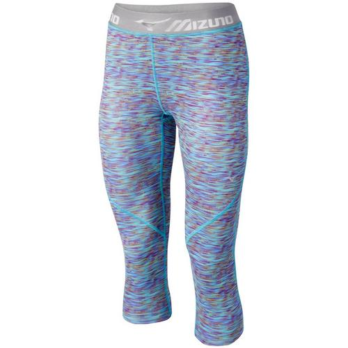 07d0162ba0 3/4 Running Tights for Women: Womens Impulse Printed 3/4 Tight ...