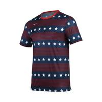 Men's Patriotic Short Sleeve Shirt