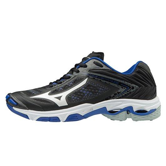 mizuno men's wave lightning z bk-sl volleyball shoe ultra