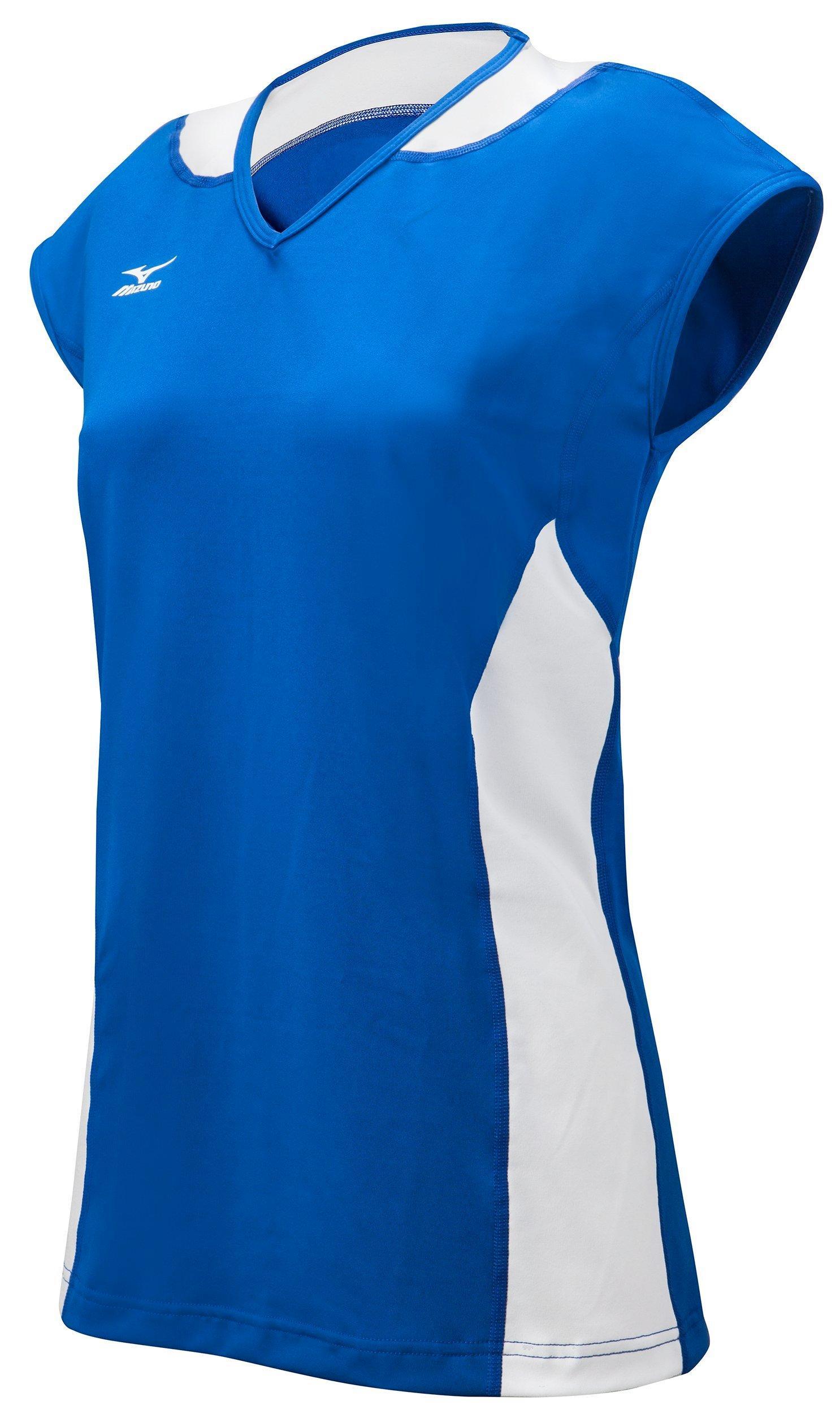 Mizuno Classic Mystic Womens Cap Sleeve Volleyball Jersey Cardinal ... 26607e8d4f