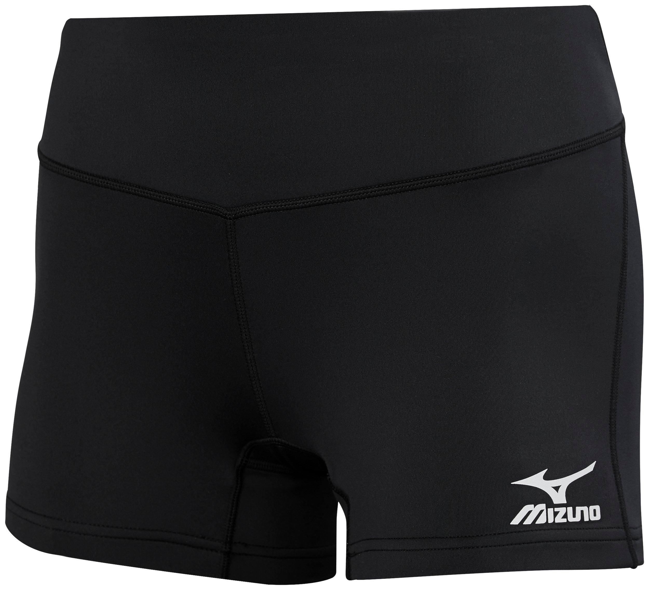 mizuno low rise volleyball shorts