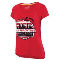 Women's Cityscape Peach Tee