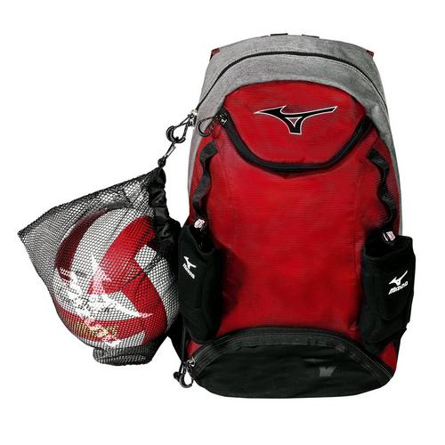 c2eb087f0a Volleyball Backpack with Ball Holder: Lightning Backpack | Mizuno USA