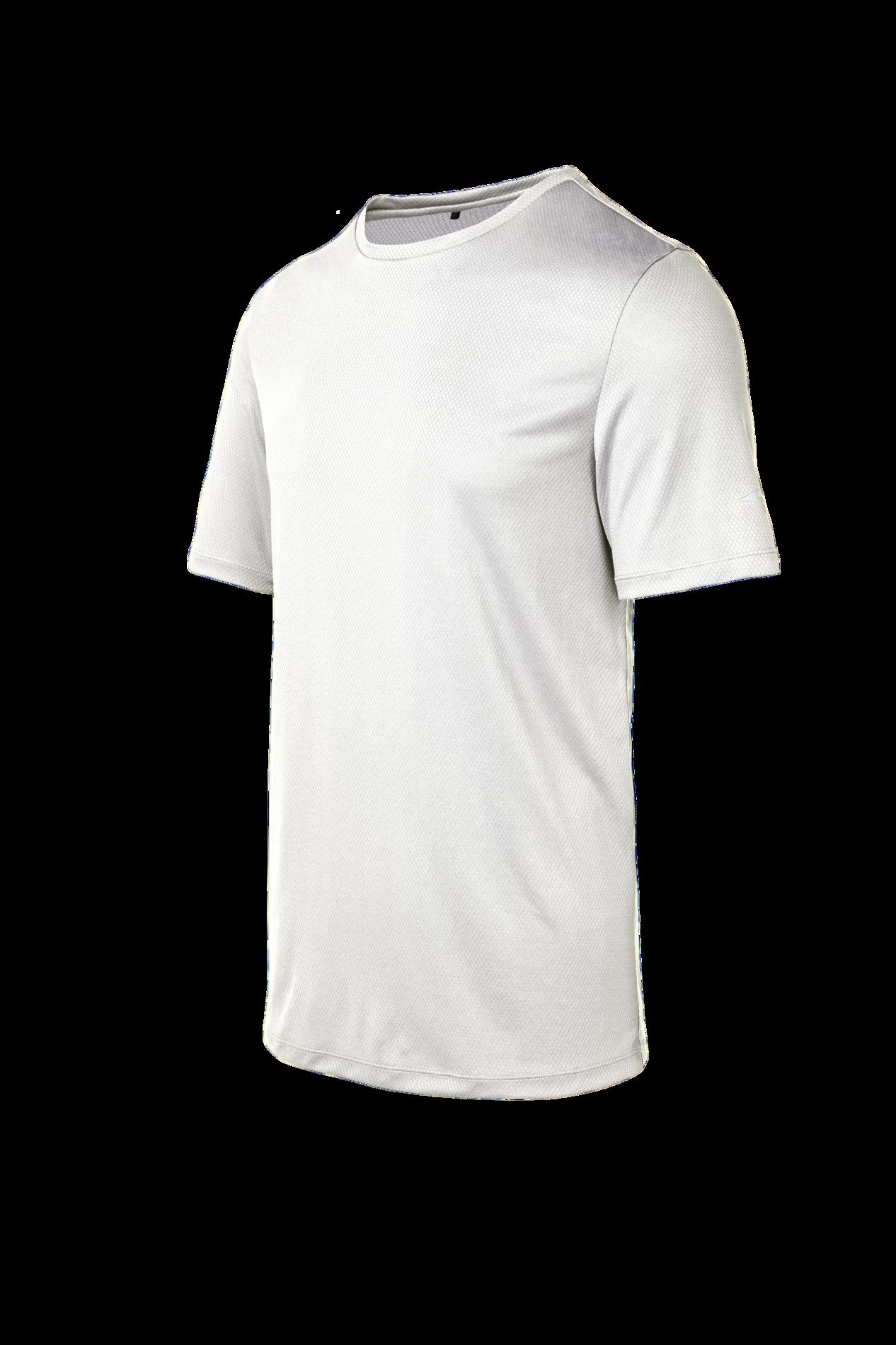 NEW Mizuno Men's Athletic Workout Inspire Short Sleeve Crew Neck Running T-Shirt