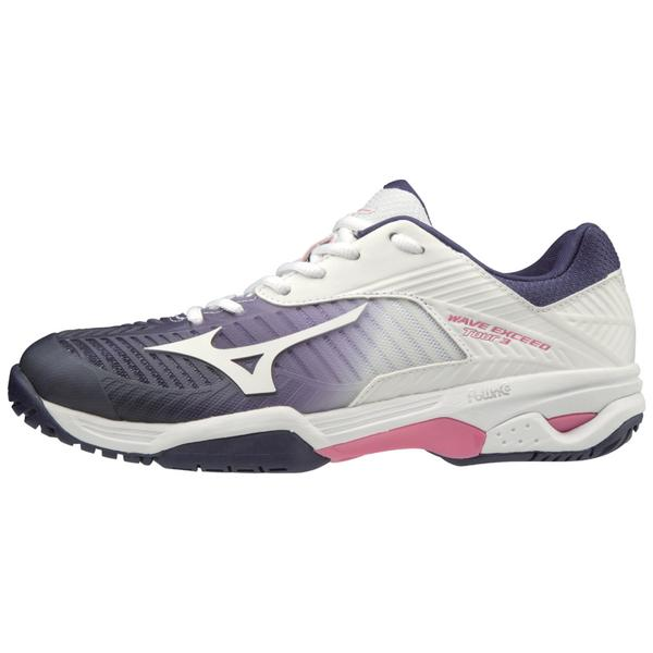 cheap for discount 1c18f f37ae Womens Tennis Court Shoes, Womens Exceed Tour AC   Mizuno USA