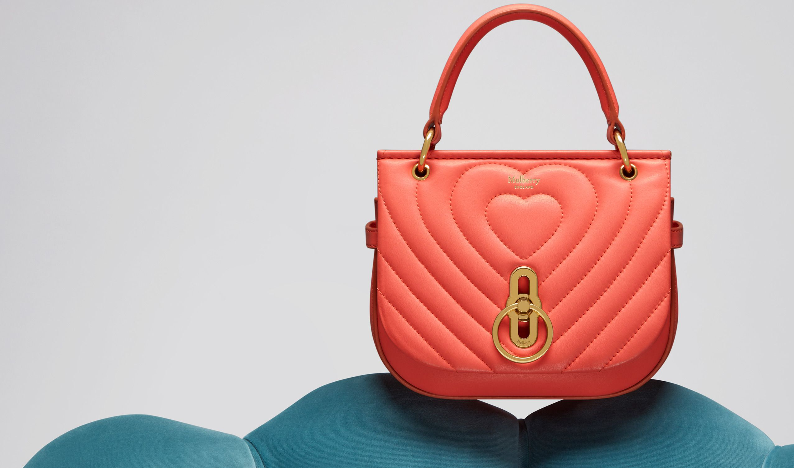 Small Amberly Satchel Bag