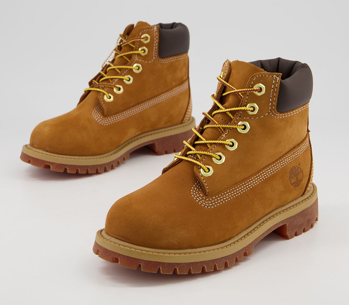 bbccf27f9 Timberland 6 Inch Classic Boots Youth Wheat Nubuck - Unisex