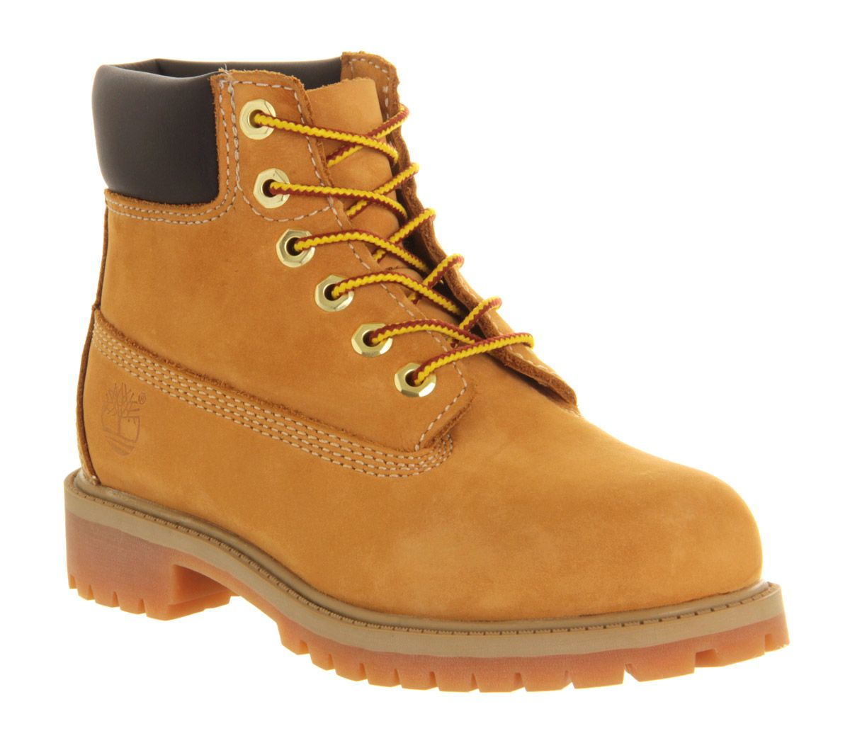 57f801b36d01 Timberland 6 Inch Classic Boots Youth Wheat Nubuck - Unisex