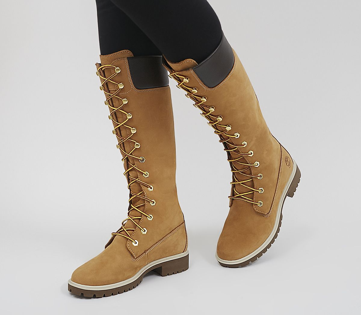 67ea1ffbc Timberland 14 Inch Premium Boots Wheat - Knee Boots