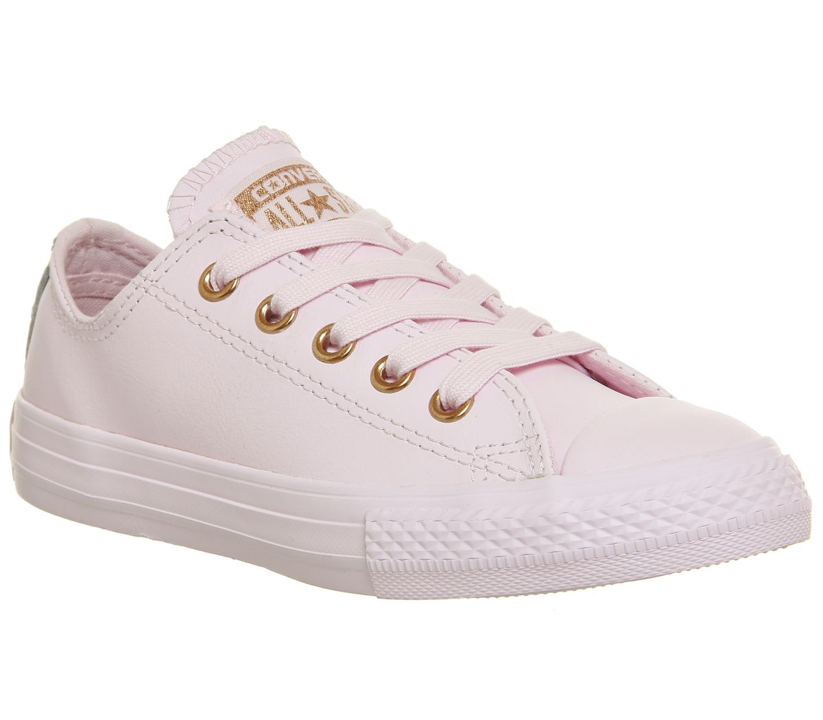 85dcf1810725 Converse All Star Ox Leather Kids Artic Pink Rose Gold - Unisex