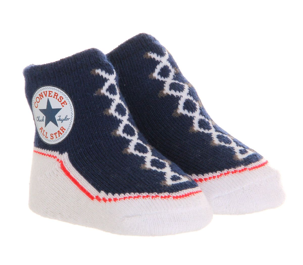 dd6077959 Converse Crib Socks Navy - Unisex