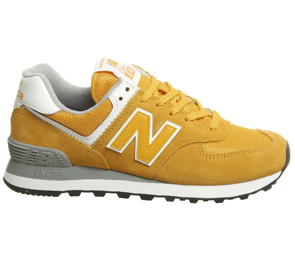a5c3e1a39fd Double tap to zoom into the image. New Balance, Wl574 Trainers, Gold Rush  ...