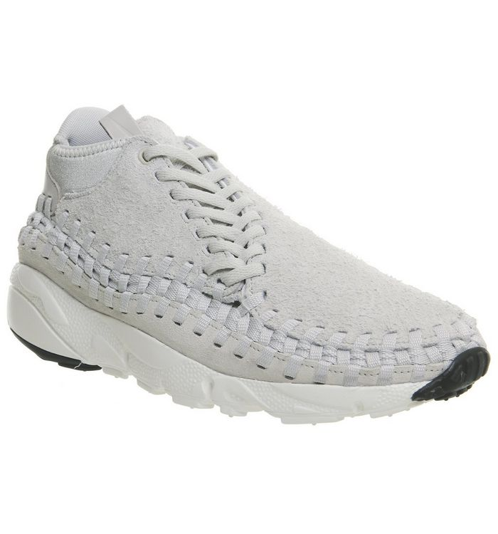 size 40 b4dfc 0619e Air Footscape Woven Chukka  Nike, Air Footscape Woven Chukka, Summit White  Black Qs ...
