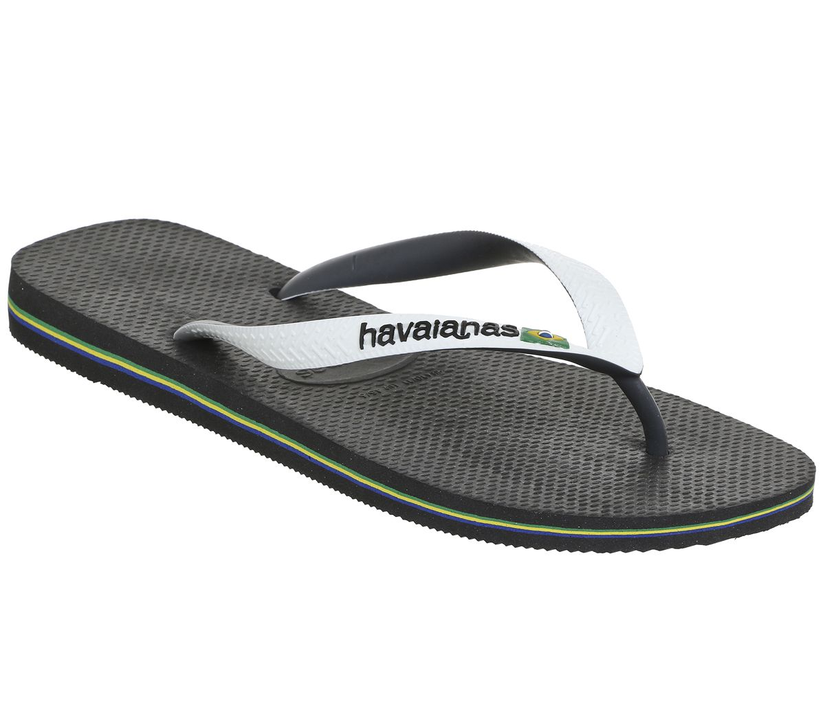 20b27ea5a Havaianas Brasil Mix Black White - Sandals