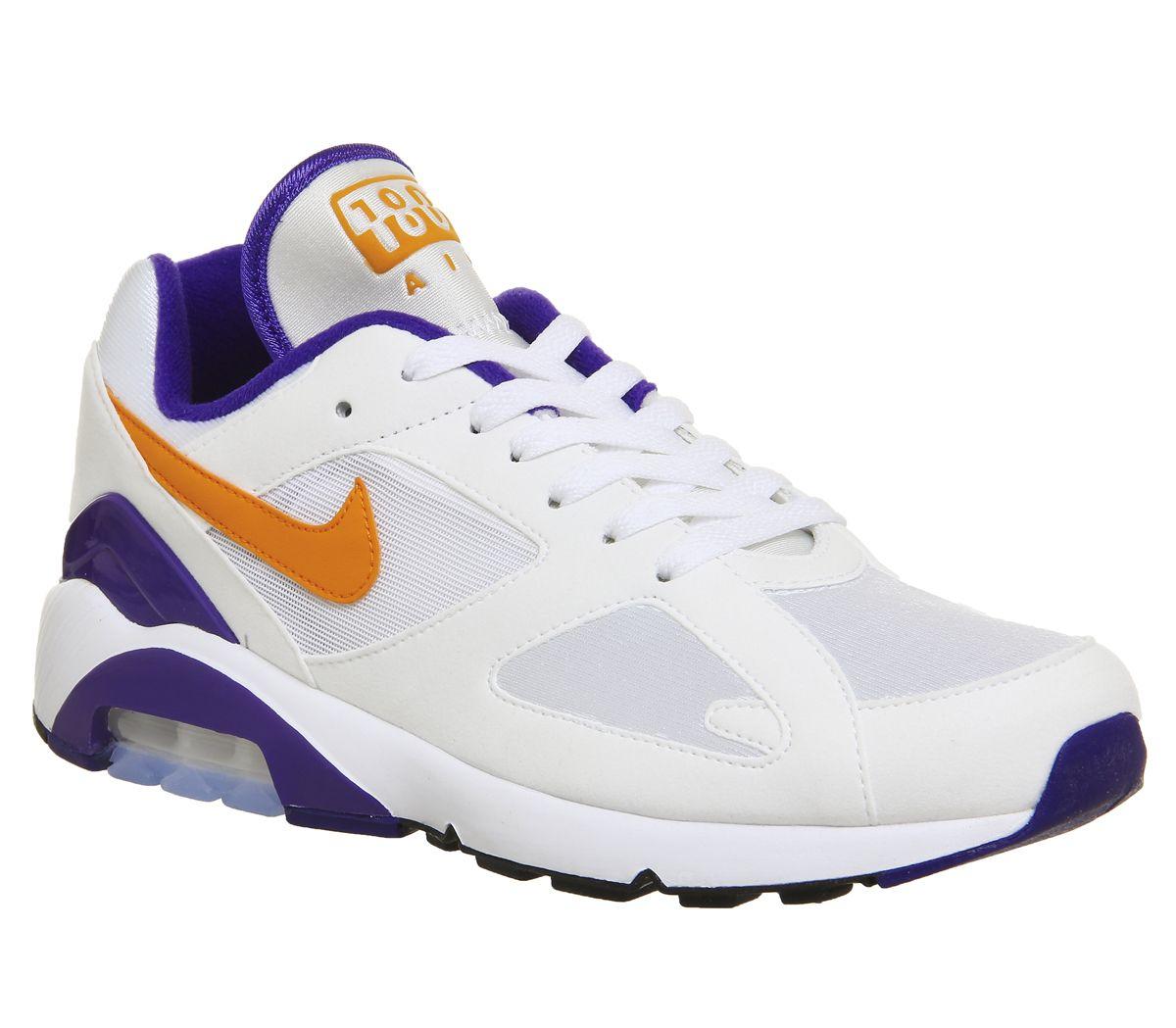 27a02058c2 Nike Air Max 180 White Bright Ceramic Dark Concord M - His trainers