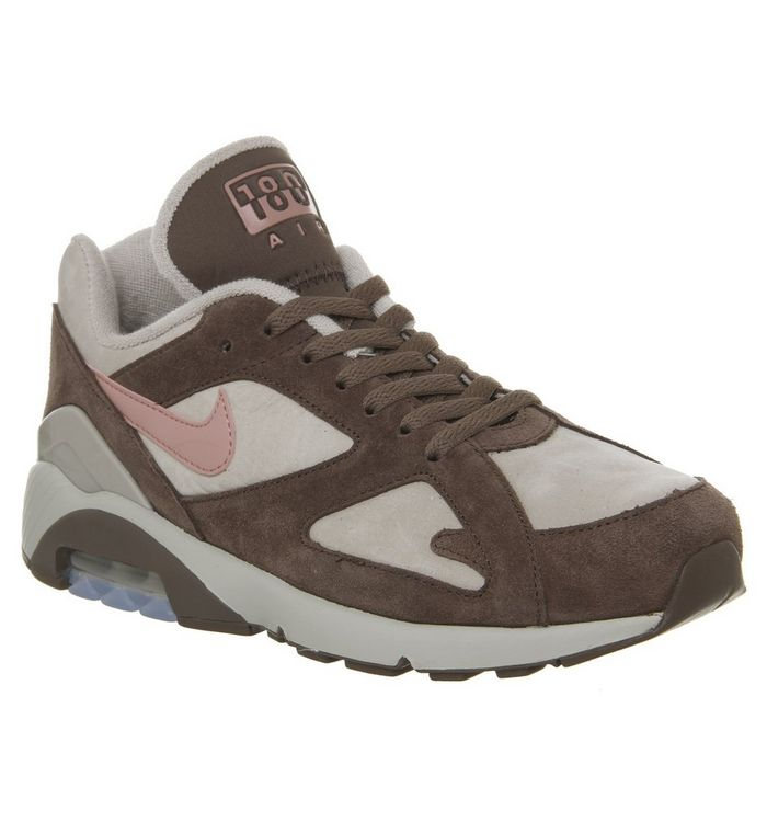 f344e7dcf Nike Air Max 180 Trainers String Rust Pink Baroque Brown - His trainers