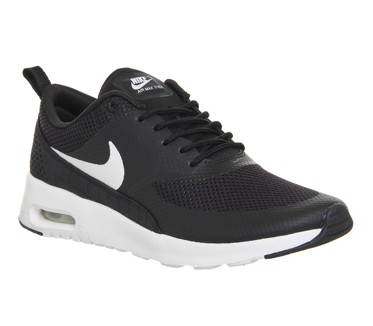 buy popular 3f9aa cce36 Nike Air Max Thea Black White - junior