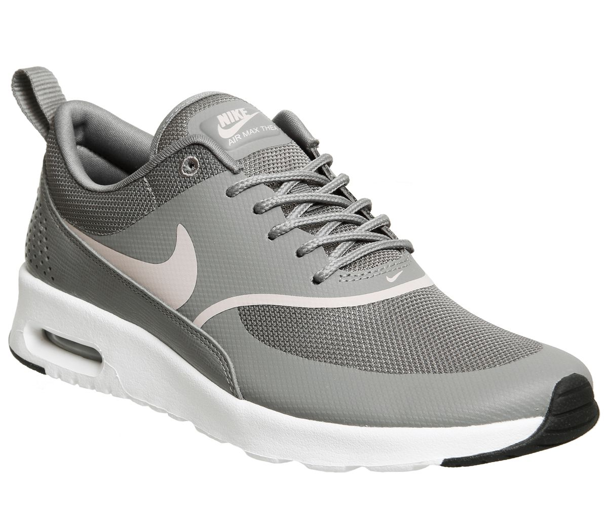 half off b4a39 69100 Nike Air Max Thea Trainers Gunsmoke Particle - Hers trainers