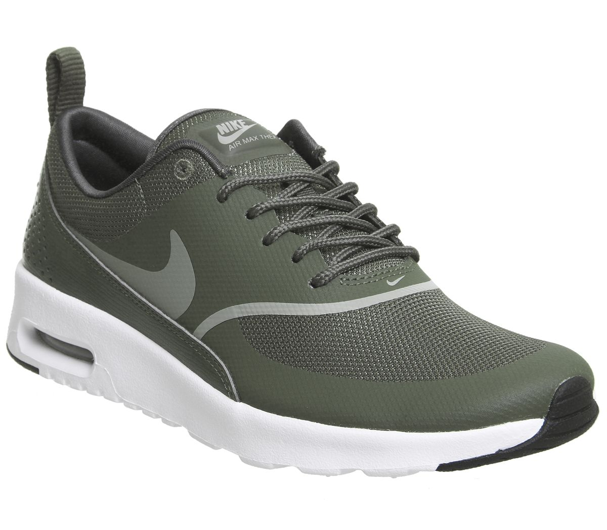 online retailer ba256 bb19a Nike Air Max Thea Trainers Cargo Khaki White - Hers trainers