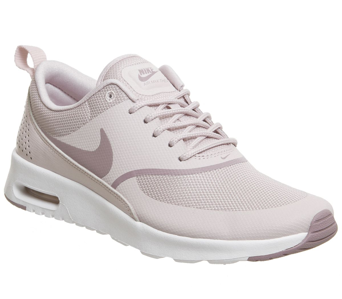 9b28e62038a5 Nike Air Max Thea Trainers Barely Rose Elemental Rose White - Hers ...
