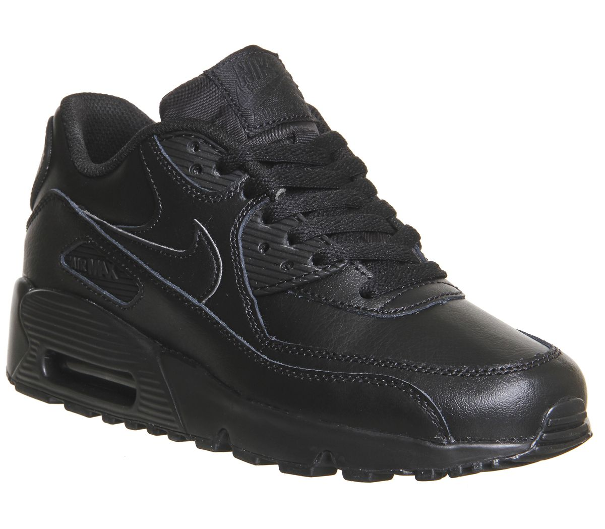 super popular 3ba63 89866 Nike Air Max 90 Gs Black - Hers trainers