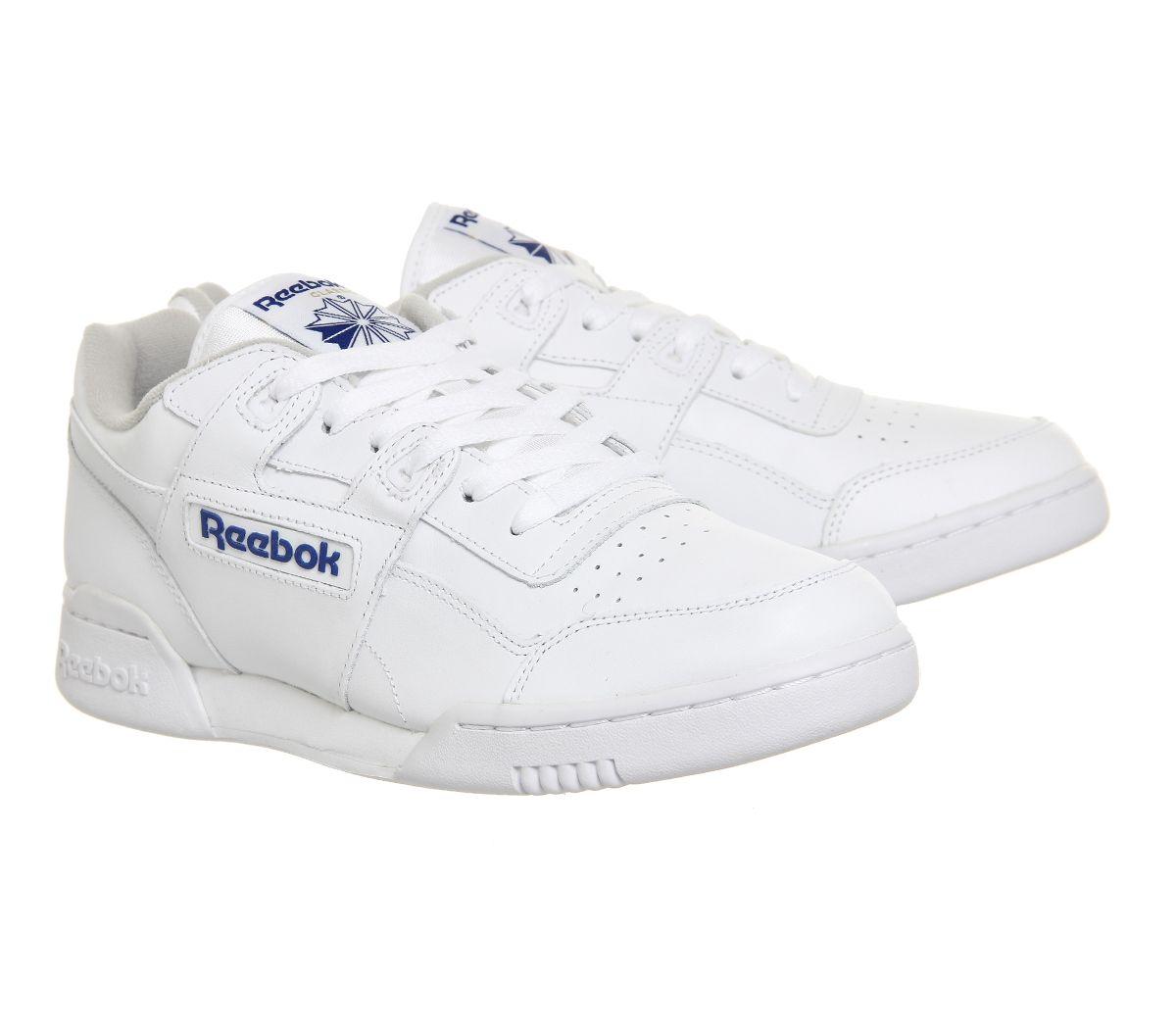 09265edd9 Reebok Workout Plus White Royal - His trainers