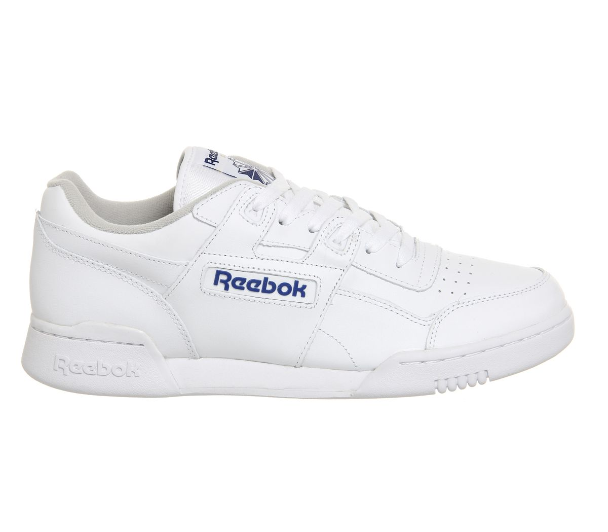 67ee108531a81 Reebok Workout Plus White Royal - His trainers