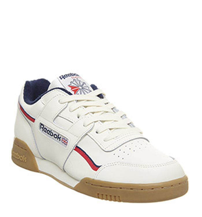 b1cc513671610 Reebok Workout Plus Trainers Black White Alloy. £74.99. Quickbuy. 28-03-2019
