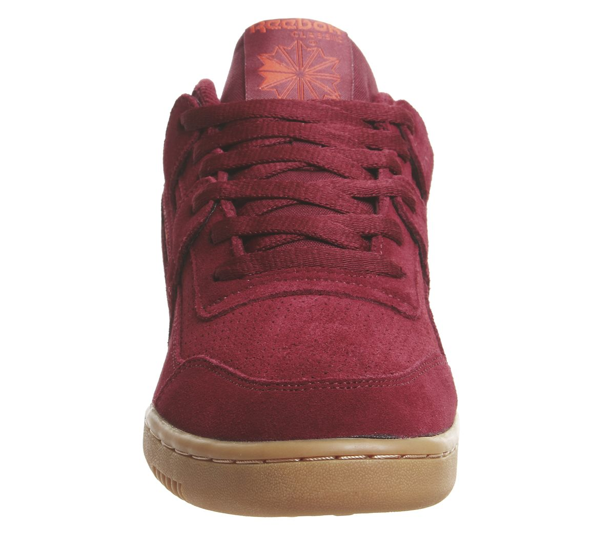 310a6712012 Reebok Workout Plus Trainers Collegiate Burgundy White Gum - His ...