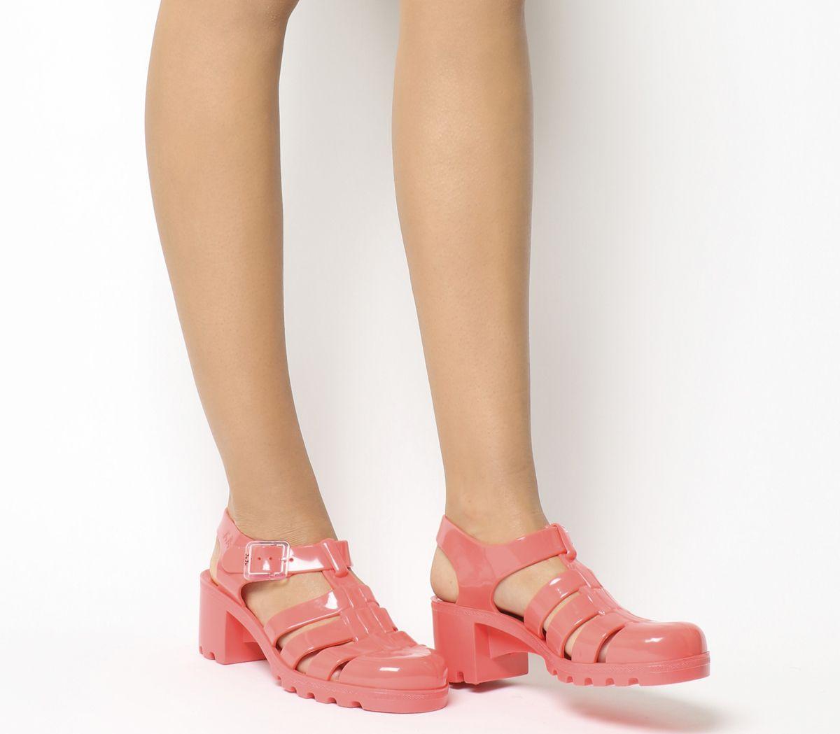1049ac65b904 JuJu Babe Hi Juju Jelly Coral - Sandals