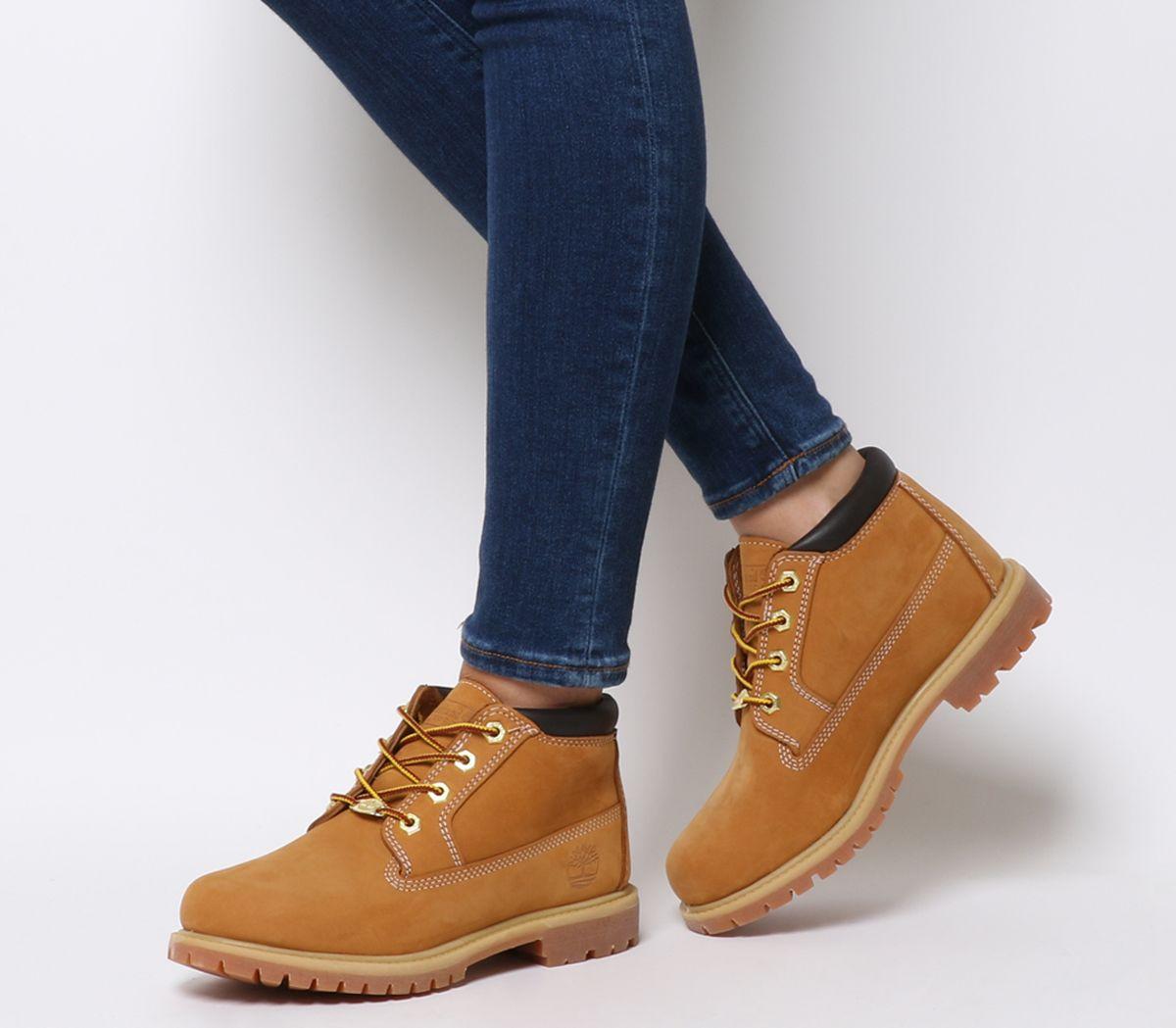 9504f03d17d7 Timberland Nellie Chukka Double Waterproof Boots Wheat Nubuck ...