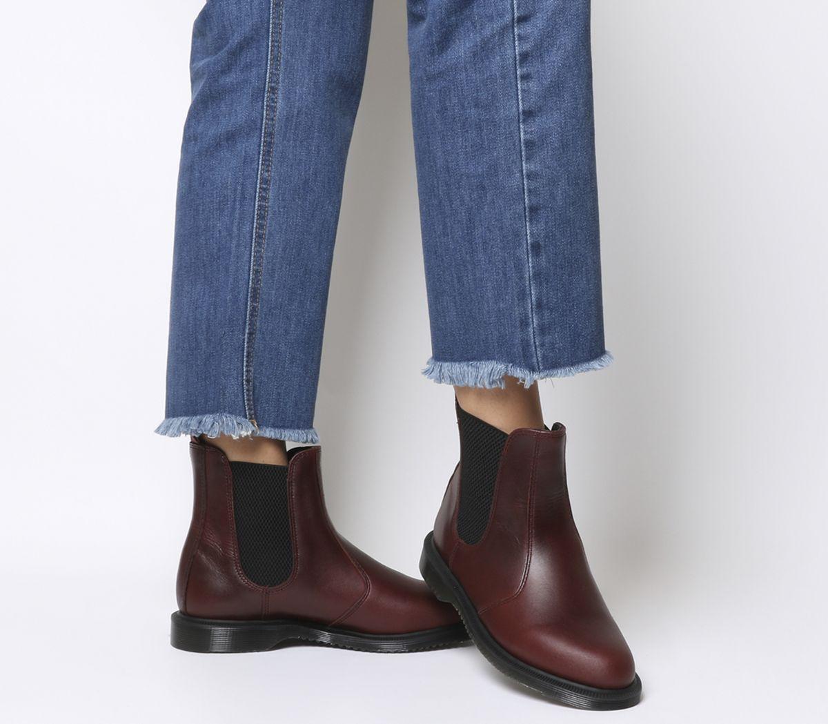 c1ae0ce488568 Dr. Martens Kensington Flora Boots Charro Brando - Ankle Boots