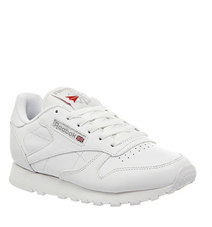 7c2a064f6 11-05-2013 · Reebok Classic Leather Trainers White Leather