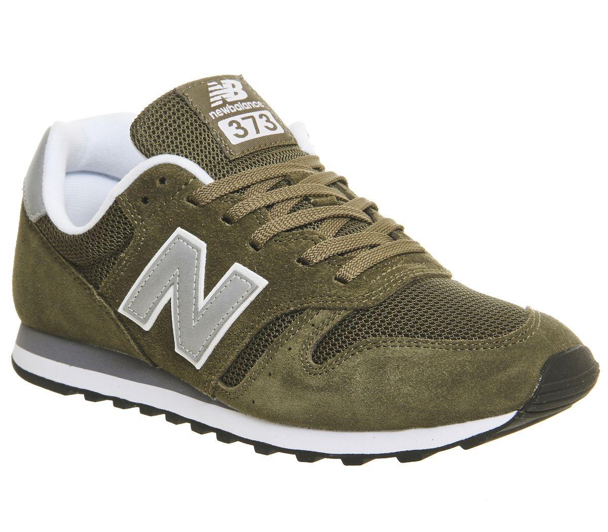 98df327528 New Balance 373 Olive Silver - Unisex Sportschuhe