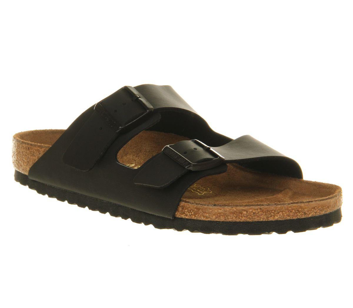 1f16314887b2 Birkenstock Arizona Two Strap Sandals Black - Sandals