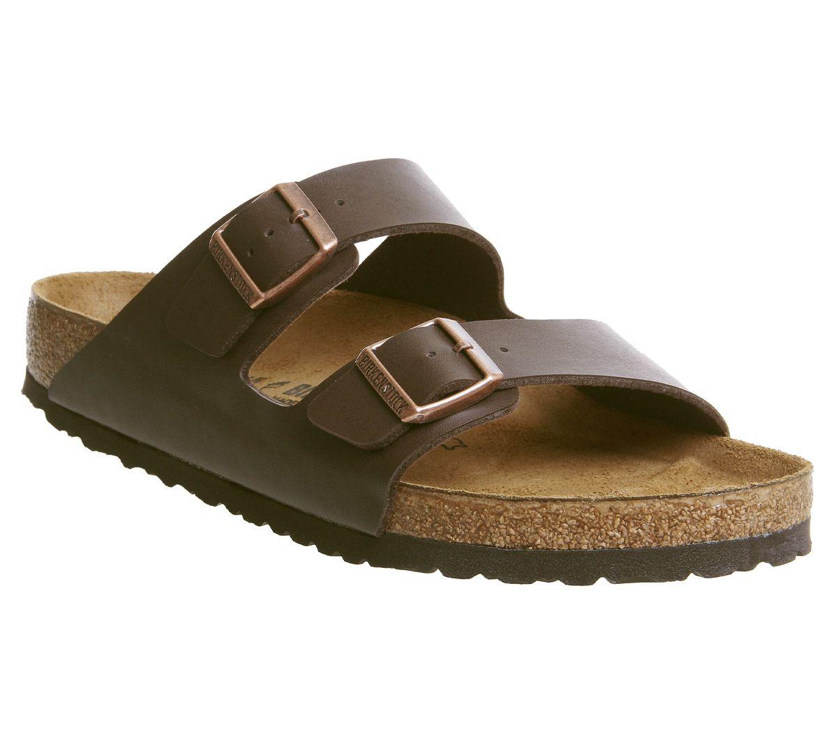 35577ceb3fad Birkenstock Arizona Two Strap Sandals Brown - Sandals
