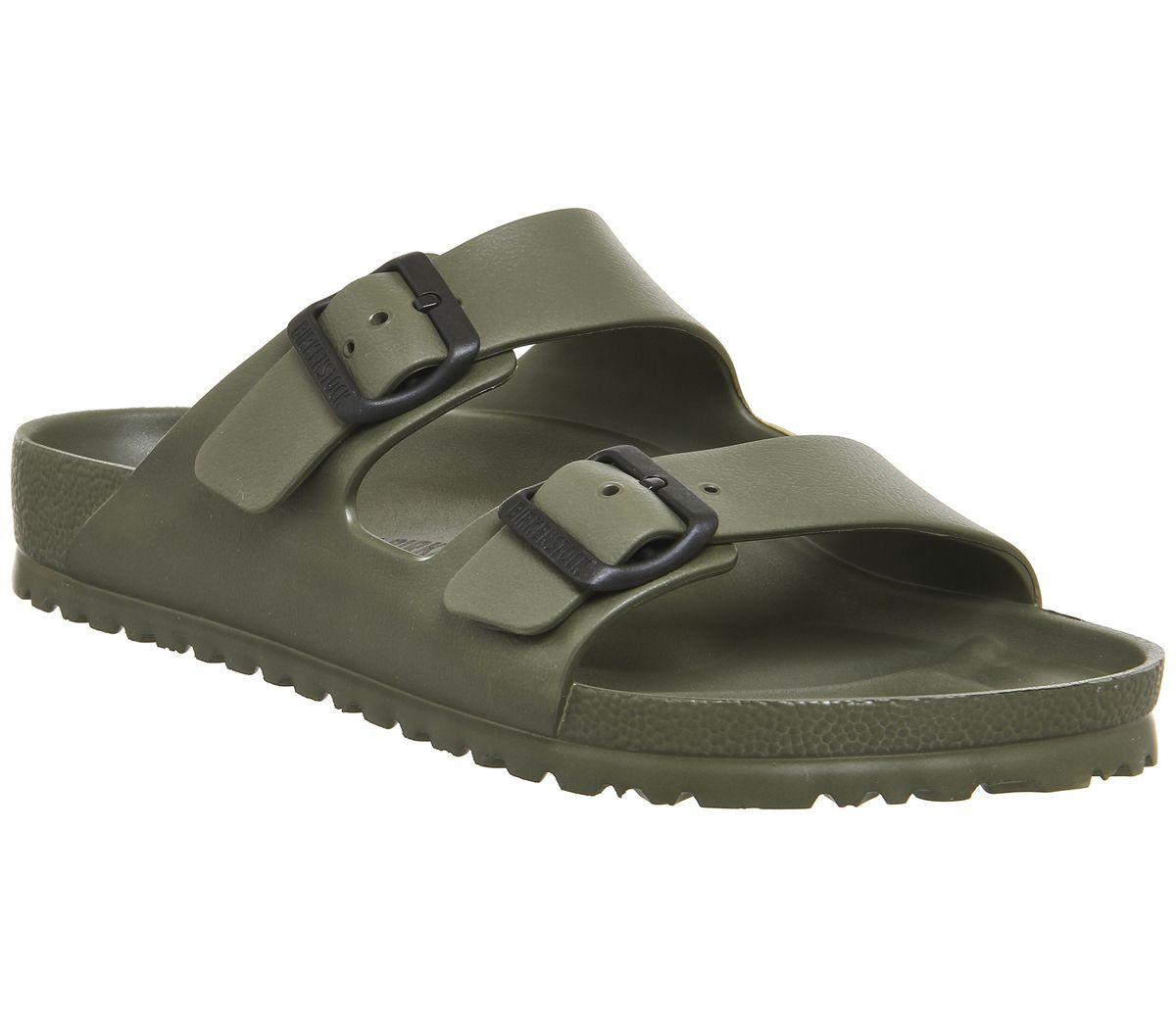261ebb22e Birkenstock Arizona Two Strap Sandals Khaki Eva - Sandals