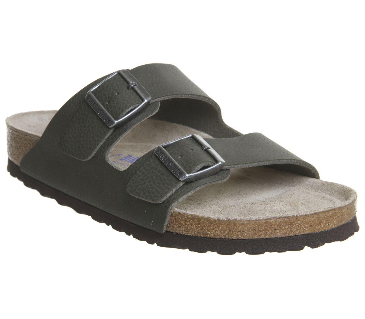 2f2fdf3c222 Birkenstock Arizona Two Strap Sandals Desert Soil Green - Sandals