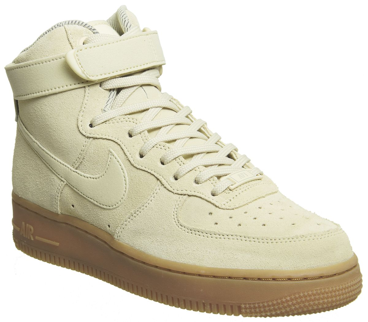 quality design 66246 84c0f Nike Air Force 1 Hi Trainers Muslin Gum - Hers trainers