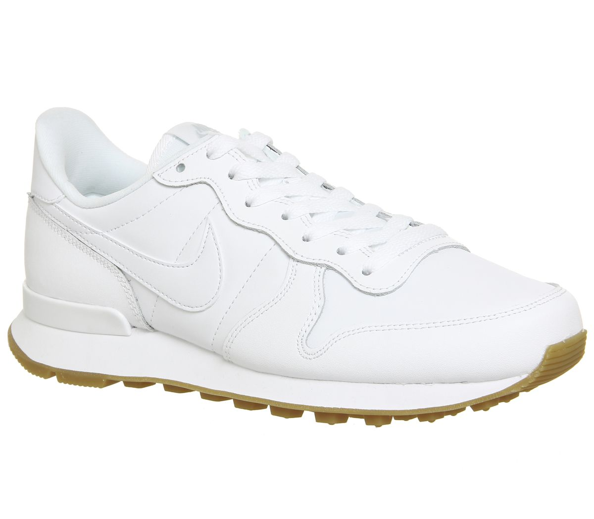 reputable site 44369 b56dd Nike Nike Internationalist Trainers White White Gum - Hers trainers