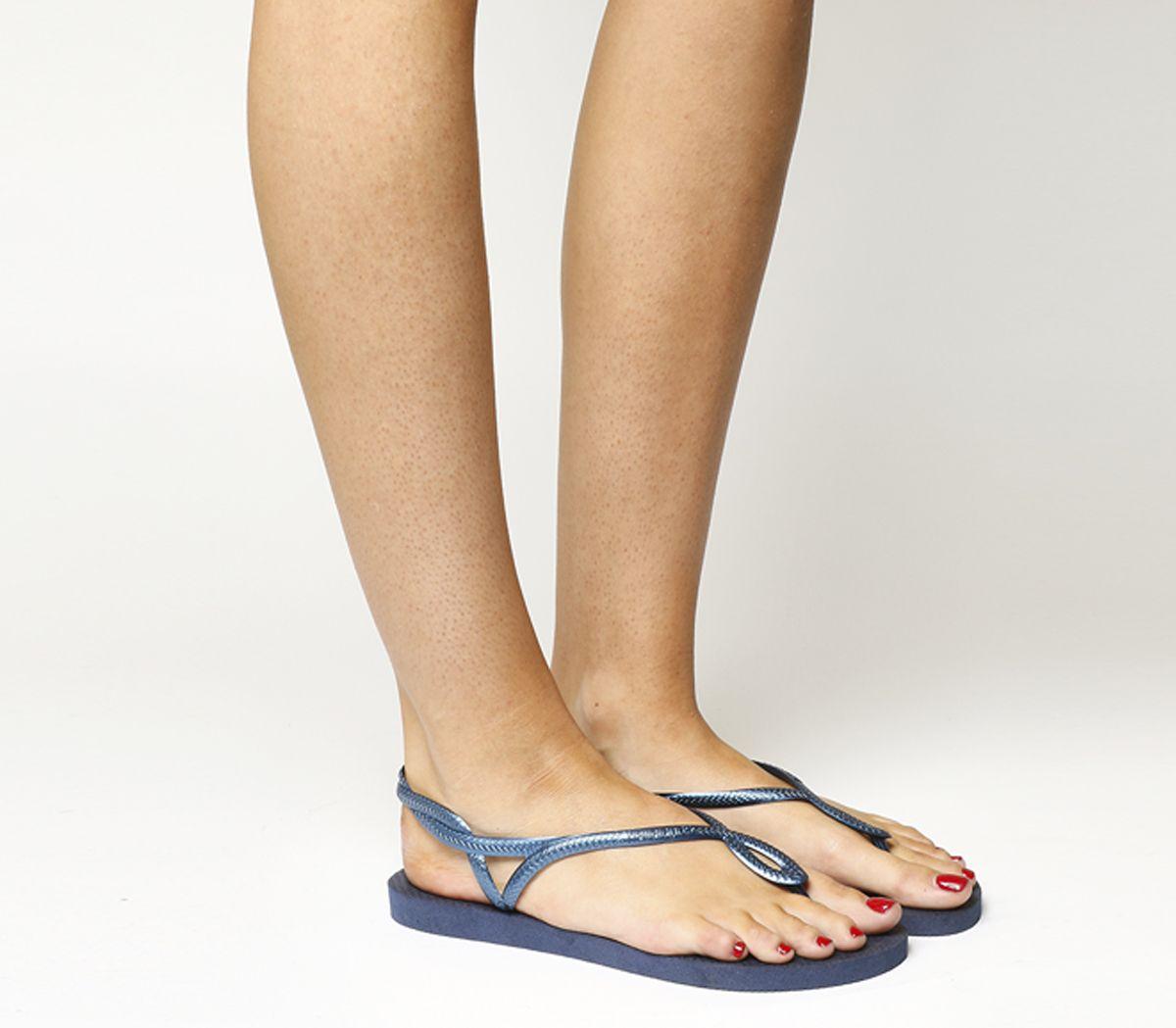 80c47b260 Havaianas Luna Navy Blue - Sandals