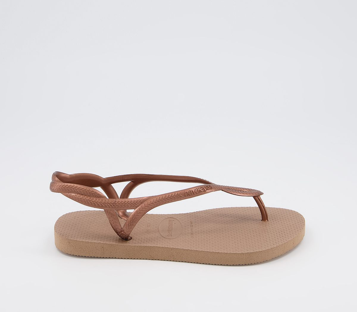 f1b54eb529f6 Havaianas Luna Rose Gold - Sandals