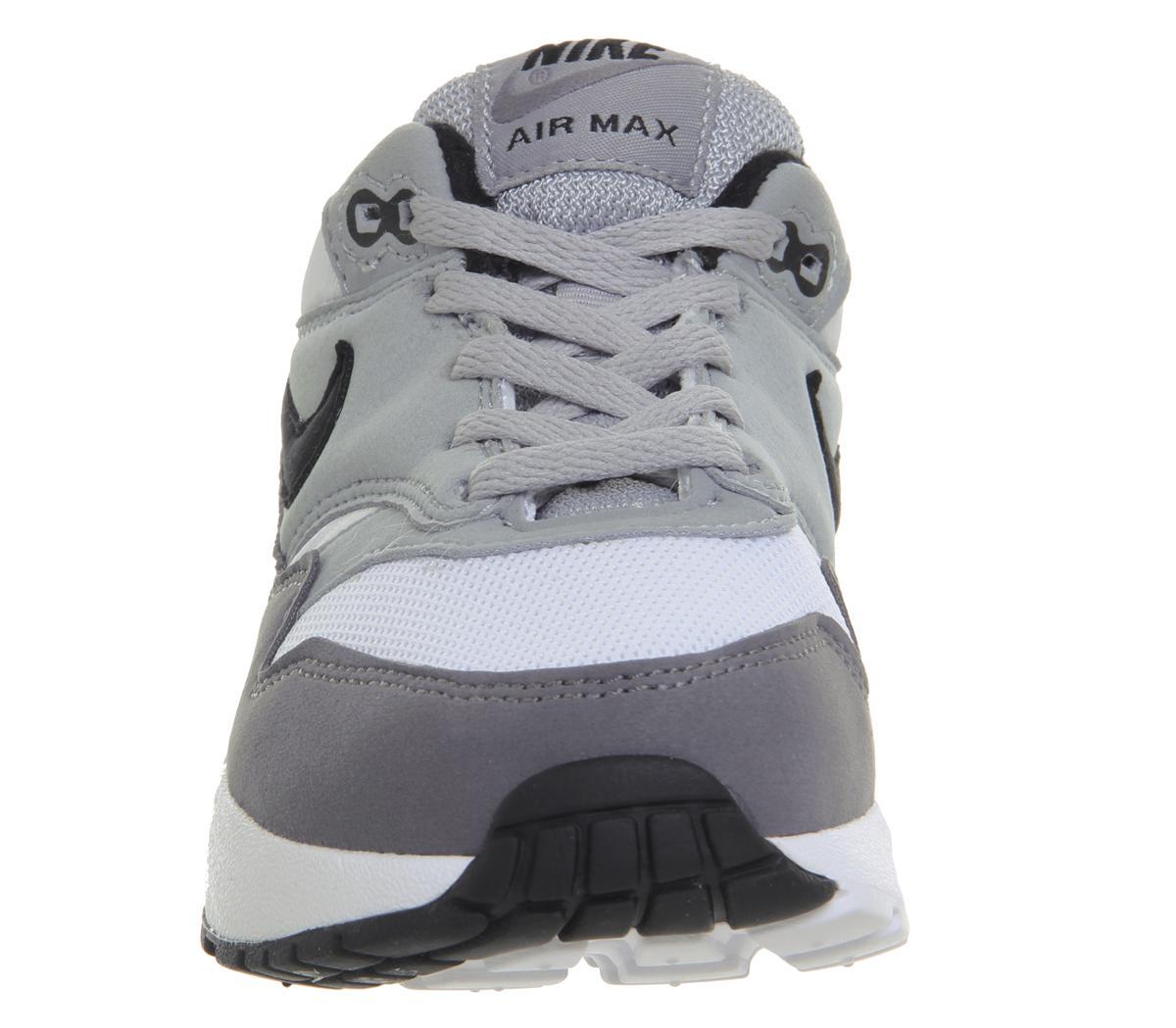 45 Herren Nike Air Max 1 Weiß AH8145 101 Laufschuhe